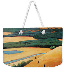 Above The Highway Weekender Tote Bag