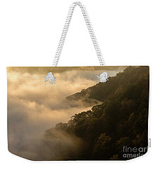 Weekender Tote Bag featuring the photograph Above The Mist - D009960 by Daniel Dempster