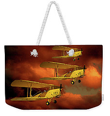 Above The Red Skys Weekender Tote Bag