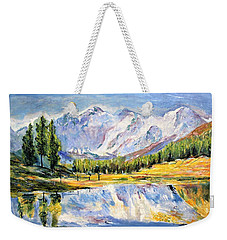 Above The Sea Level Weekender Tote Bag