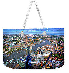 Above The Shadow Of The Shard Weekender Tote Bag by Jim Albritton