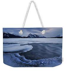 Abraham Lake Sans Bubbles Weekender Tote Bag
