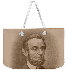 Abraham Lincoln - Savior Of His Country Weekender Tote Bag