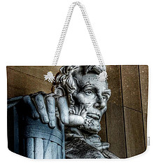 Abraham Lincoln Statue - The Lincoln Memorial Washington D. C.  Weekender Tote Bag