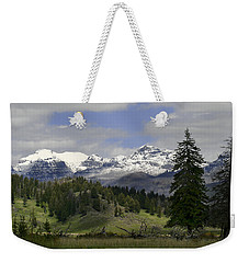 Absaroka Mts Wyoming Weekender Tote Bag