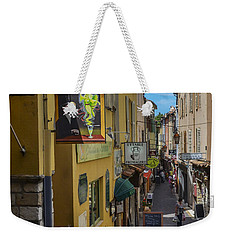 Weekender Tote Bag featuring the photograph Absinthe In Antibes by Allen Sheffield