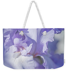 Absolute Treasure Closeup 2. The Beauty Of Irises Weekender Tote Bag