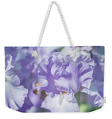 Absolute Treasure Closeup. The Beauty Of Irises Weekender Tote Bag