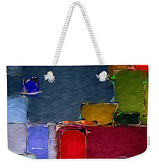 Abstract 005 Weekender Tote Bag