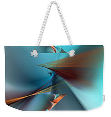 Abstract 040411 Weekender Tote Bag