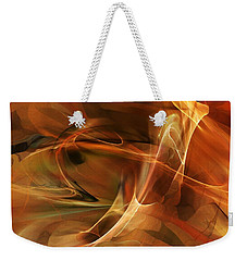 Abstract 060812a Weekender Tote Bag