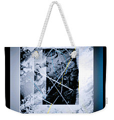 Abstract 1001-2016 Weekender Tote Bag by John Krakora