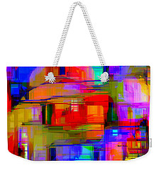 Abstract 1293 Weekender Tote Bag
