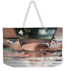 Abstract 218 Weekender Tote Bag