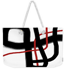 Abstract #3 Weekender Tote Bag