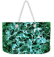 Abstract 3 Weekender Tote Bag by Patricia Lintner