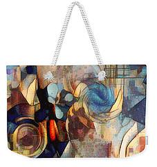 Abstract 32 Weekender Tote Bag