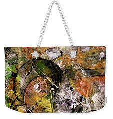 Abstract #330 Weekender Tote Bag by Jim Whalen