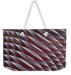 Abstract 33017-1 Weekender Tote Bag by Maciek Froncisz