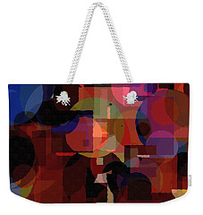 Abstract 33017-2 Weekender Tote Bag by Maciek Froncisz