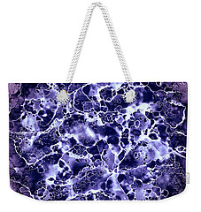 Abstract 4 Weekender Tote Bag by Patricia Lintner