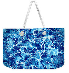 Abstract 5 Weekender Tote Bag by Patricia Lintner
