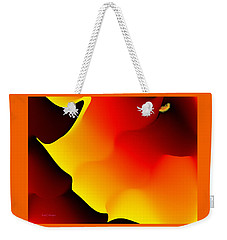 Abstract 515 8 Weekender Tote Bag