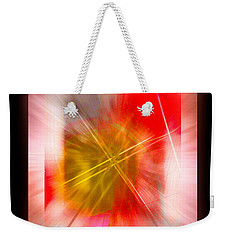 Abstract 530-2016 Weekender Tote Bag by John Krakora