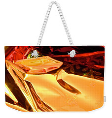 Weekender Tote Bag featuring the photograph Abstract 6113 by Stephanie Moore