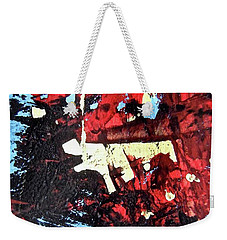 Weekender Tote Bag featuring the photograph Abstract 6567 by Stephanie Moore