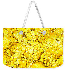 Weekender Tote Bag featuring the painting Abstract 7 by Patricia Lintner