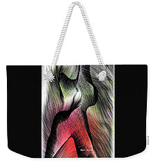 Weekender Tote Bag featuring the digital art Abstract 785 by Rafael Salazar