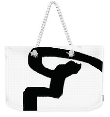 Abstract #8 Weekender Tote Bag
