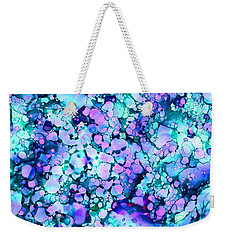 Abstract 8 Weekender Tote Bag by Patricia Lintner