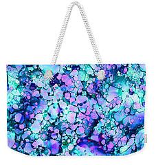 Abstract 8 Weekender Tote Bag by Patricia Lintner