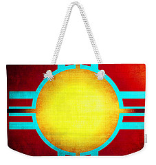 Abstract 98 Weekender Tote Bag by Timothy Bulone