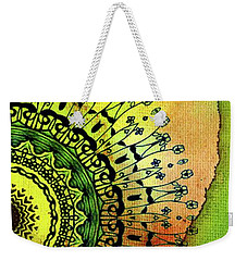 Abstract Acrylic Art The Garden Weekender Tote Bag