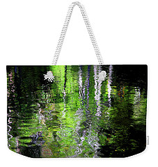 Abstract Along The Stream Weekender Tote Bag