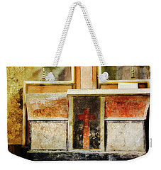 Abstract Altar Weekender Tote Bag