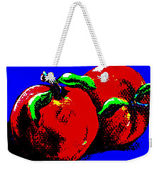 Abstract Apples Weekender Tote Bag