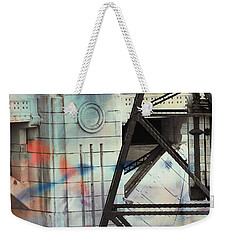 Abstract Architecture Weekender Tote Bag by Susan Stone