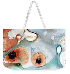 Abstract Art - A Calm Force - Sharon Cummings Weekender Tote Bag by Sharon Cummings