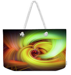 Weekender Tote Bag featuring the photograph Abstract Art by Ryan Photography