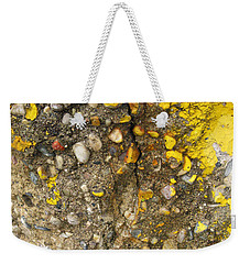 Abstract Art Seen In Parking Lot Weekender Tote Bag by Sandra Church
