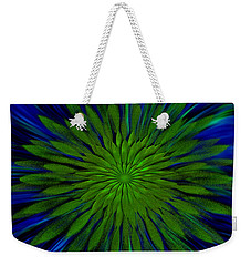 Abstract Art - Sunflower3 By Rgiada Weekender Tote Bag