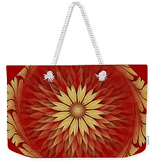 Abstract Art - Sunflower4 By Rgiada Weekender Tote Bag