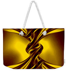 Abstract Art - The Knot By Rgiada Weekender Tote Bag