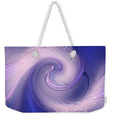 Abstract Art - The Wave By Rgiada Weekender Tote Bag