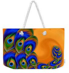 Abstract Art - Vanity Vortex By Rgiada Weekender Tote Bag