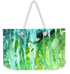 Abstract Art Waterfall Weekender Tote Bag